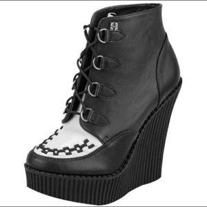 T.U.K Creeper Dollskill Wedge Boots
